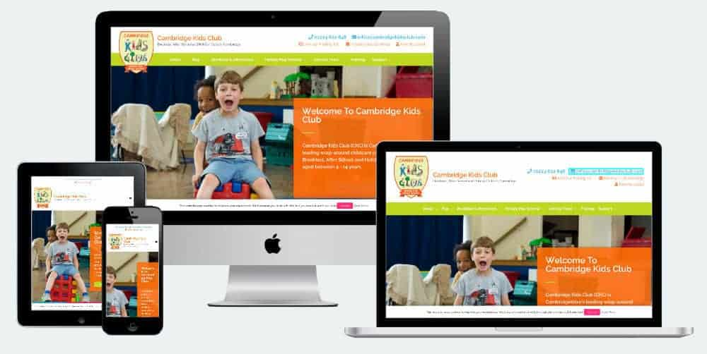 Cambridge Kids Club website