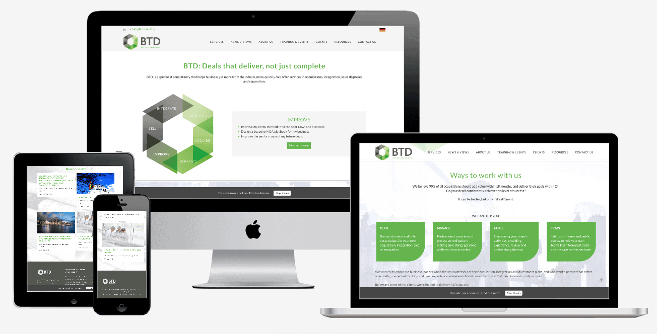 BTD Consulting Website